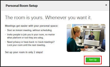How To Set Up Personal Room In Webex